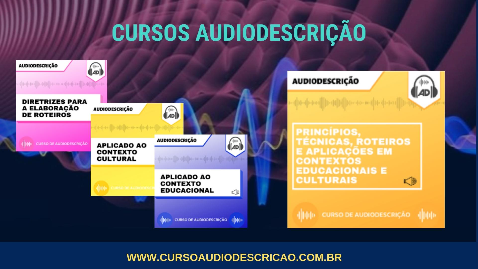 curso de audiodescrição